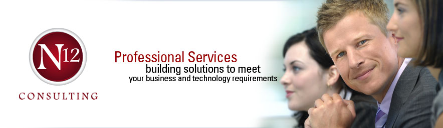 N12 Consulting — Professional Service Teams building solutions to meet your business and technology requirements